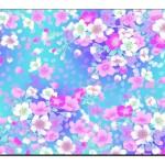Çiçek Desenli Duvar Kağıtları-5