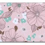 Çiçek Desenli Duvar Kağıtları-6