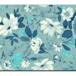 Çiçek Desenli Duvar Kağıtları-9