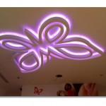 Dekoratif Genç Odası Asma Tavan Modelleri