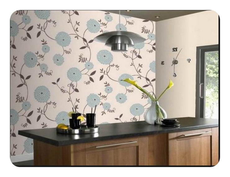 Desenli Mutfak Duvar Kağıtları
