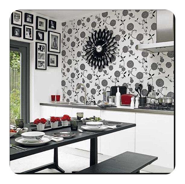 Modern Mutfak Duvar Kağıtları