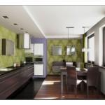 Mutfak Duvar Kağıdı Dekorasyonu