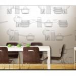 Mutfak Duvar Kağıdı Modelleri-5