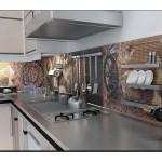 Mutfak Tezgah Arası Cam Seramik Modelleri
