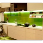 Mutfak Tezgah Arası Cam Uygulamaları