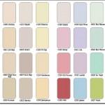 Overline İç Cephe Renk Kartelası