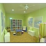 Çocuk Odası Elma Yeşili Rengi
