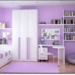 Eflatun Rengi Genç Odası