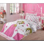 Genç Kız Odası Yatak Örtüsü