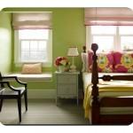 Genç Odası Elma Yeşili Rengi