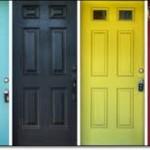 Renkli Amerikan Kapı