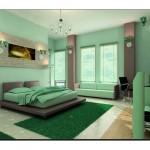 Yatak Odası Elma Yeşili Rengi