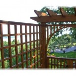 Ahşap Bahçe Çiti ve Kapı