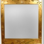 Altın Varaklı Ayna