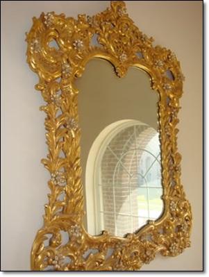 Altın Varaklı Aynalar