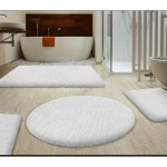 Beyaz Banyo Paspas Seti
