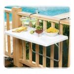Dekoratif Balkon Masaları