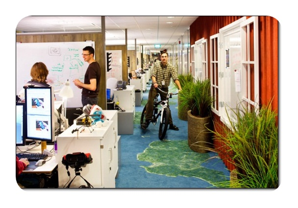 Google Ofis Dekorasyonu
