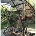 Metal Bahçe Salıncak Salıncakları