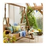 Modern Bahçe Salıncak Modelleri-4