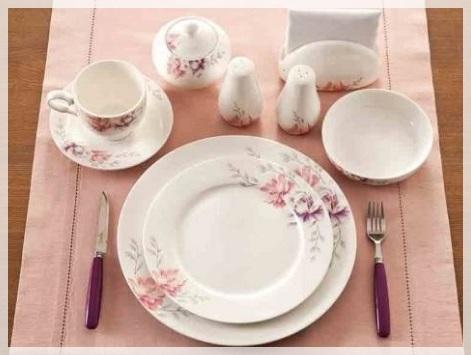 Biev Porselen Kahvaltı Takımı