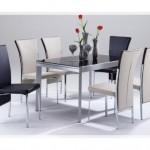 Cam Mutfak Masası Tasarımları