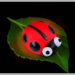 Uğur Böceği Gece Lambası: