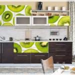 Kivi Resimli Mutfak Dolabı Kapakları