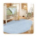 Mavi Bebek Odası Halısı