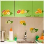 Meyve Resimli Mutfak Dolabı Kapakları