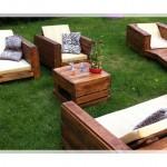Ahşap Bahçe Mobilyaları