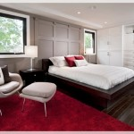 Kırmızı Yatak Odası Halısı