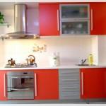 Kırmızı Ankastre Mutfaklar