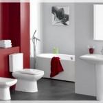 Kırmızı Beyaz Banyolar