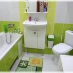 Küçük Renkli Banyo Tasarımı