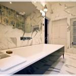 Mermer Banyo Dekoru