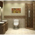 Çinili Banyo Tasarımları