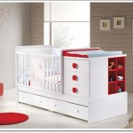 Kırmızı Beyaz Bebek Yatakları