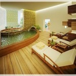 Modern Ahşap Banyolar