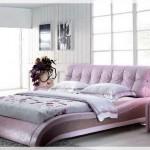 Modern Deri Yatak Odaları