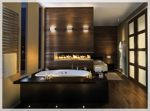 Lüks Ahşap Banyolar