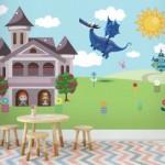 Ucuz Bebek Odası Duvar Kağıdı
