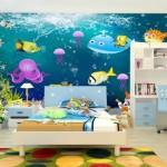 Ucuz Bebek Odası Duvar Kağıtları-4