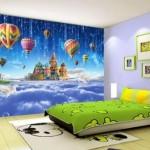 Uygun Bebek Odası Duvar Kağıtları-4