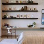 Yatak Odası Duvar Raf Modelleri