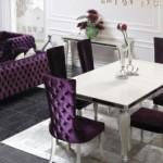 Zebrano Mobilya Yemek Odası Takımları
