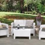 İstikbal Beyaz Bahçe Masa Sandalye Takımları