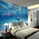 3d Manzara Yatak Odası Duvar Kağıtları