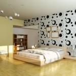 3d Modern Yatak Odası Duvar Kağıtları